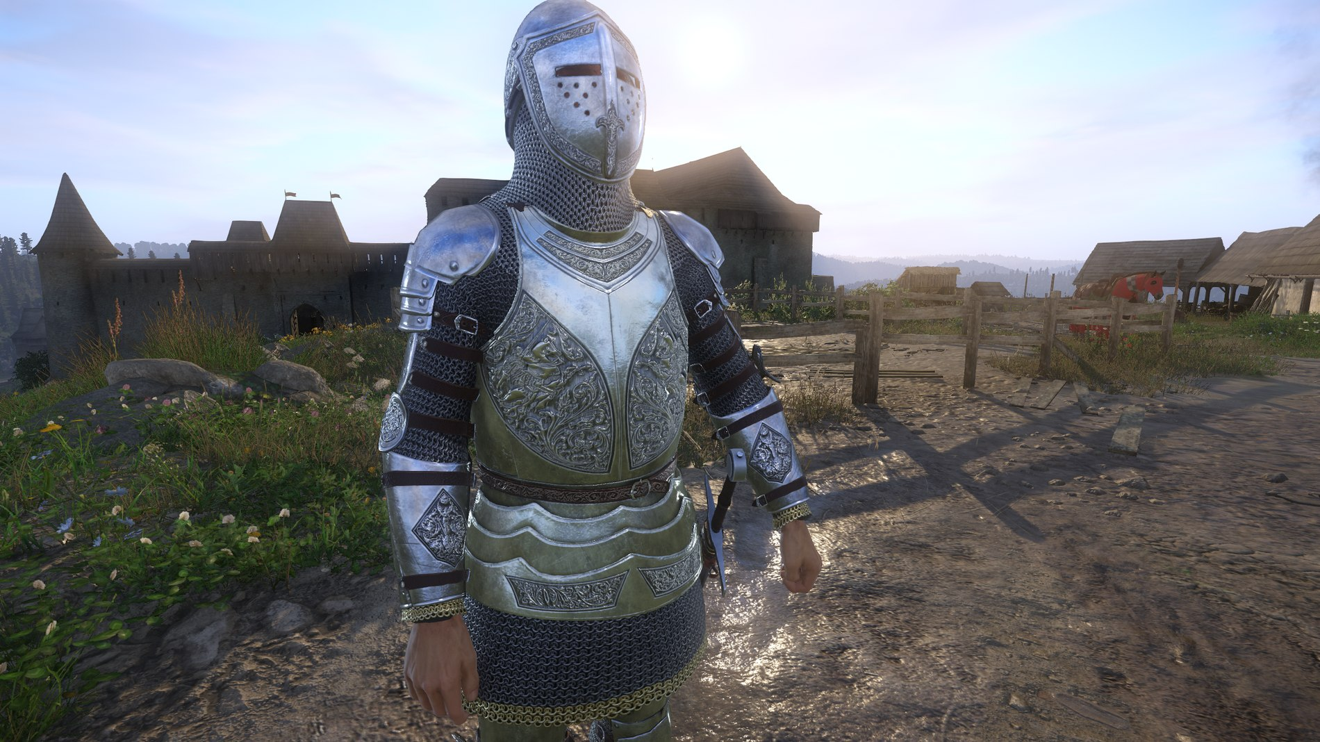 SPOA Silver Knight Armor For KCD