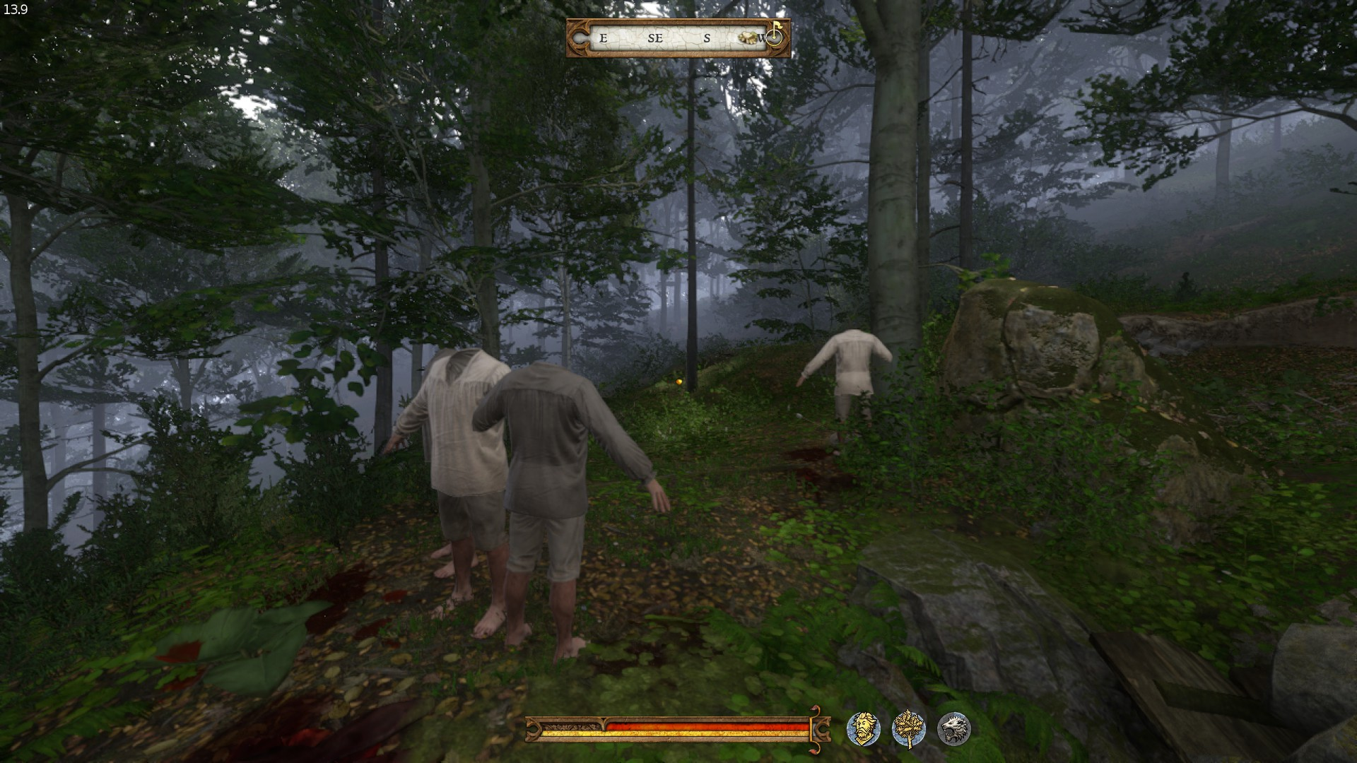 Strange headless men in the woods - Bugs - Kingdom Come: Deliverance