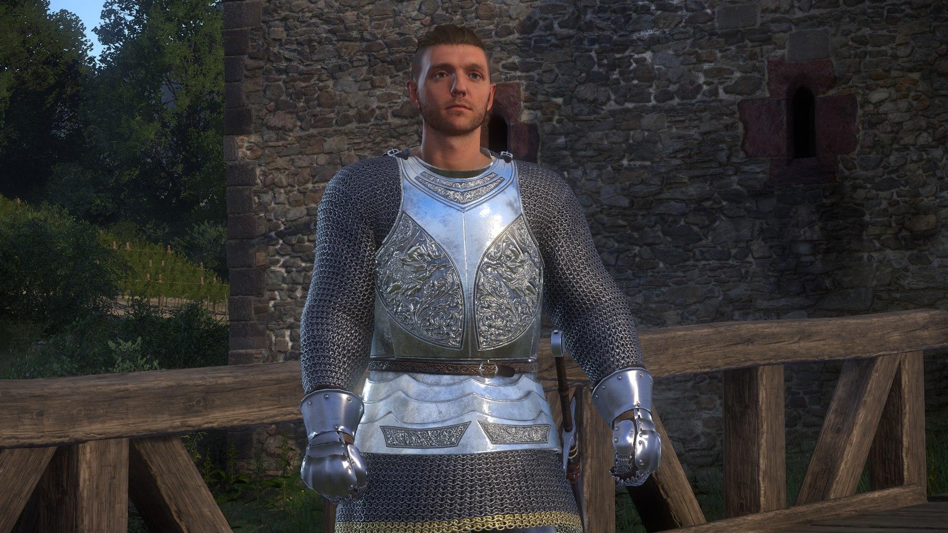 SPOA Silver Knight Armor for KCD - Modding - Kingdom Come