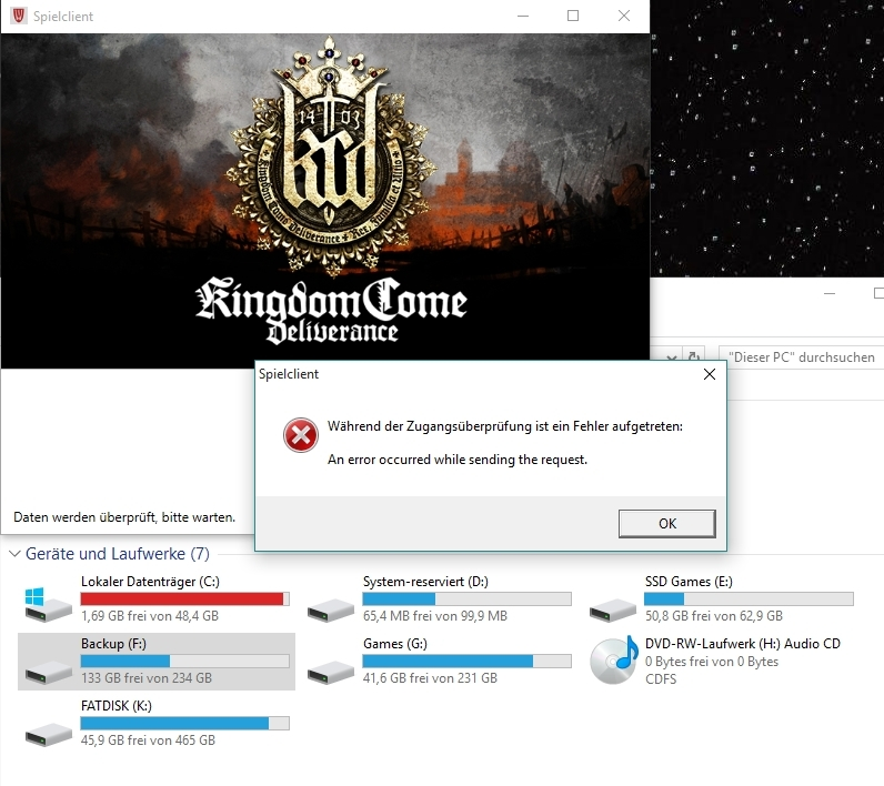 Launcher always uses system drive (C:\) for download - Bugs