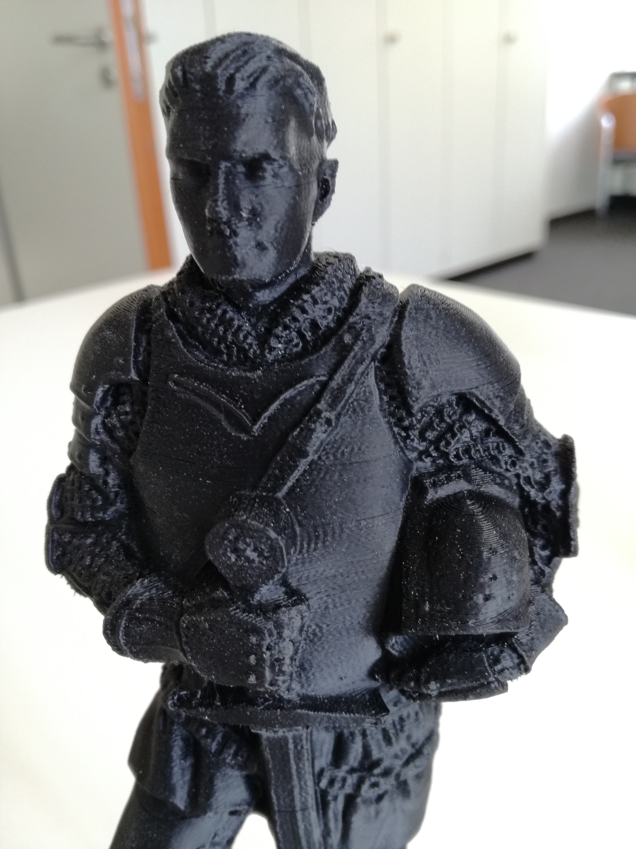 3D Print of the statue - Pledge/Kickstarter - Kingdom Come