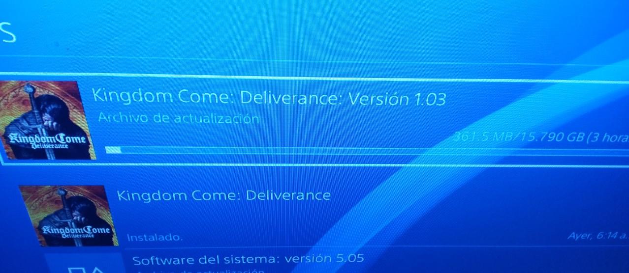 kingdom come deliverance download ps4